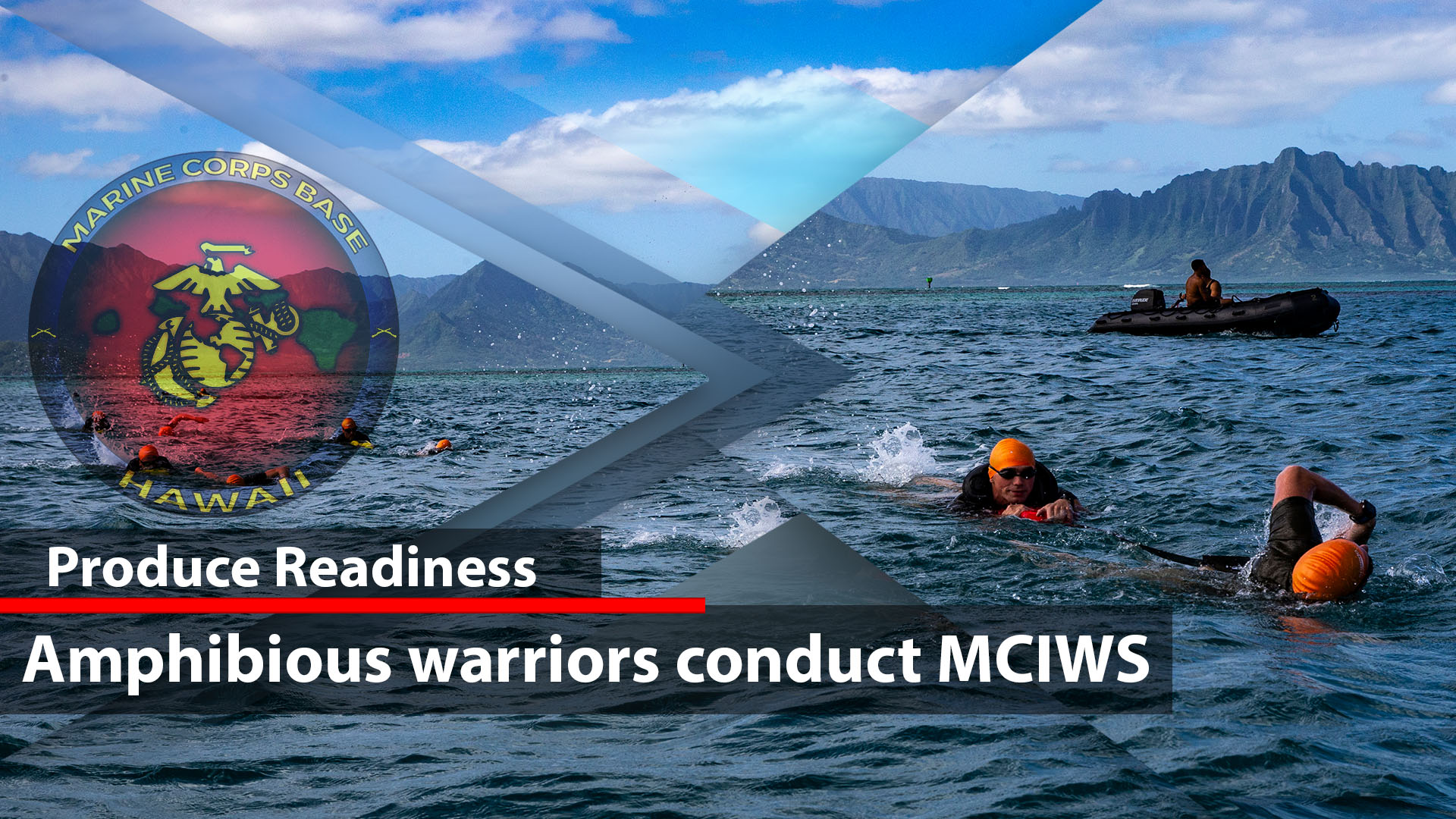 Amphibious warriors conduct MCIWS