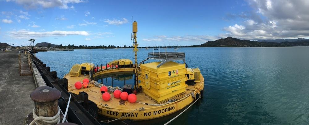 NAVFAC EXWC oversees deployment of Wave Energy Conversion device