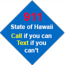 911 Text if you can't call