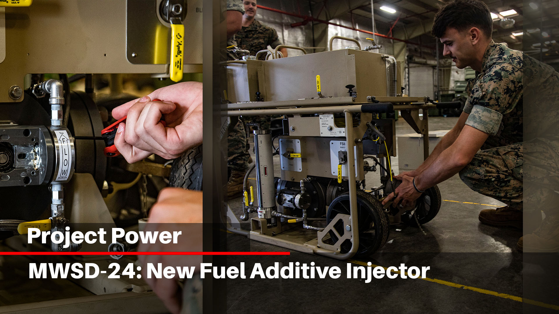 MWSD-24: New Fuel Additive Injector