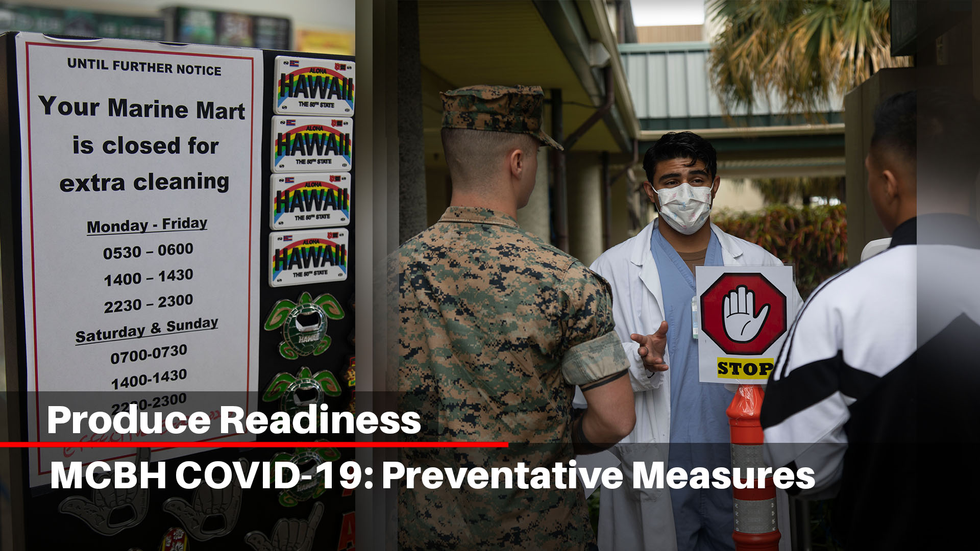 MCBH COVID-19: Preventative Measure