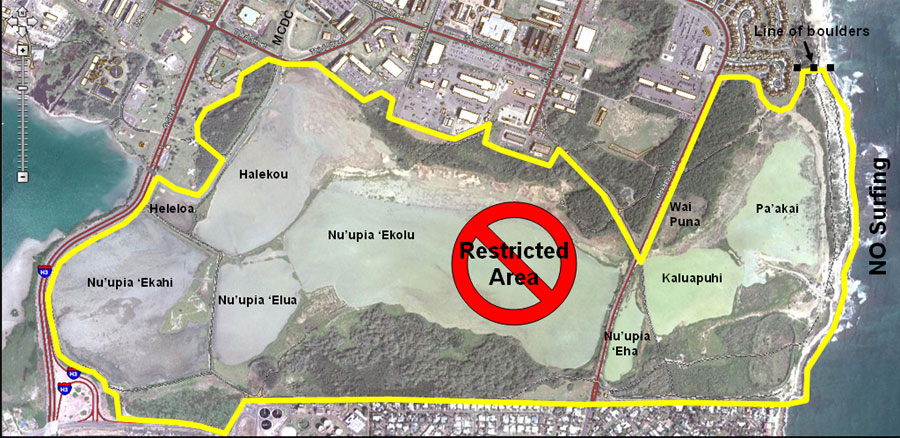 Map of Nu'upia Ponds.